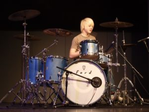 FranKo Drummer Richard Ricky Rayner at the Clothes Show